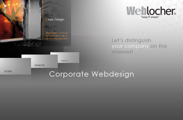 banner corporate webdesign